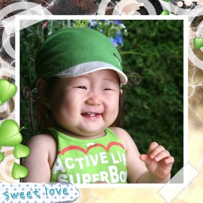 달콤한-초록잎파리정사각형